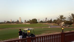 Qatar Retail Location Strategy Doha Golf Course from the club house